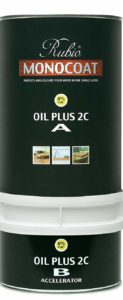 Rubio Monocoat Zero VOC 2 Component Oil Finish Pure (350 mL)